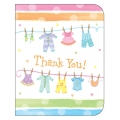 Baby Clothes Baby Shower Thankyou Cards (8)